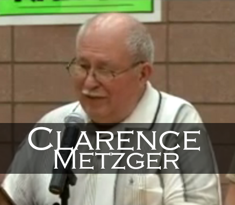 Clarence Metzger Induction Speech