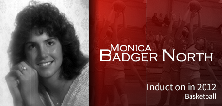 Monica Badger North Member Button220