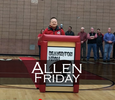Allen Friday Induction Speech